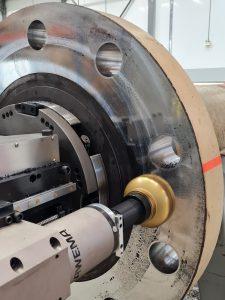 Gerben van Leeuwen investment Circular CNC controlled