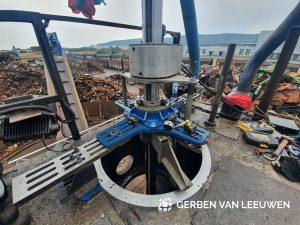 Gerben van Leeuwen investment Surfaces at a scrap yard